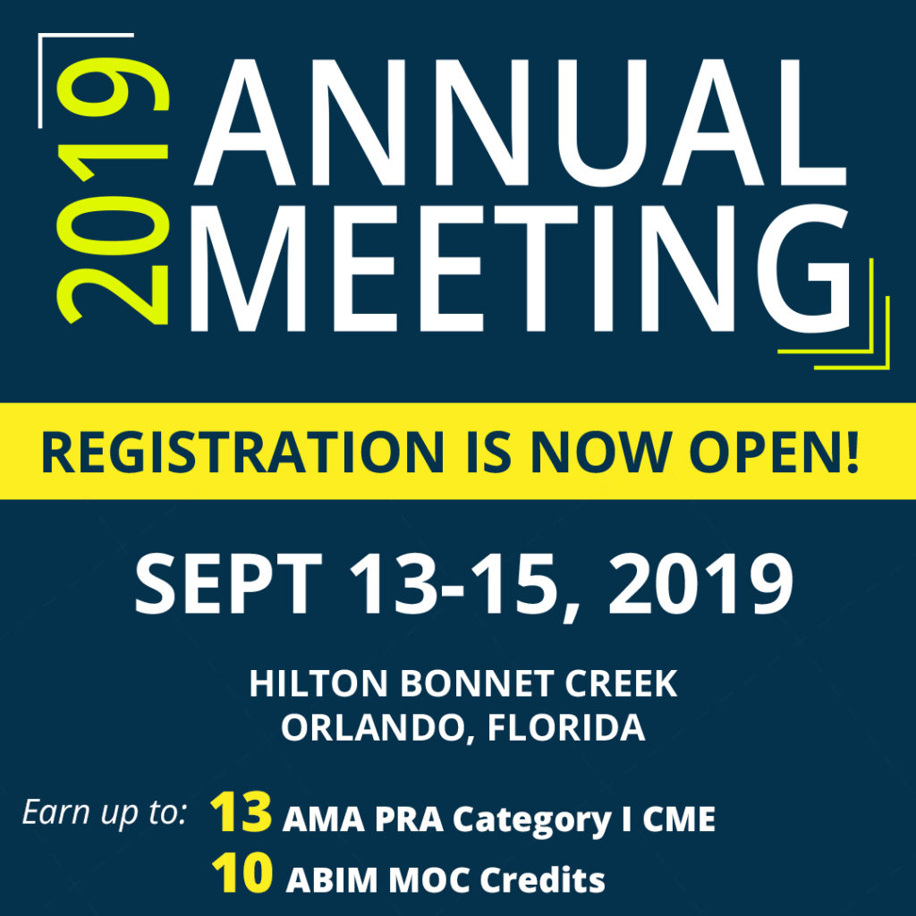 2019 FGS Annual Meeting is September 13-15, 2019 at the Hilton Bonnet Creek, in Orlando, Florida.