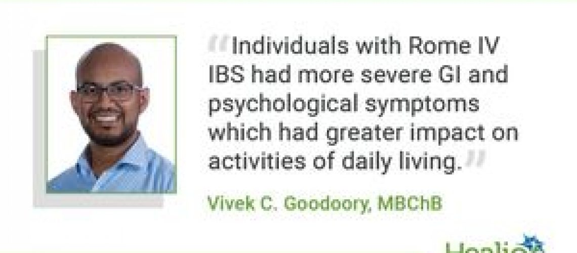 Rome IV IBS linked to more severe symptoms