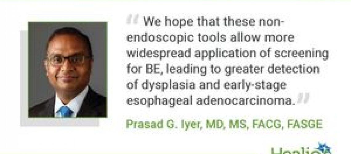 Q&A: non-endoscopic detection for BE, esophageal adenocarcinoma