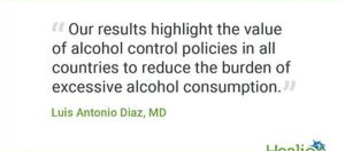 More alcohol policies lead to lower alcohol-related liver disease in Latin American countries