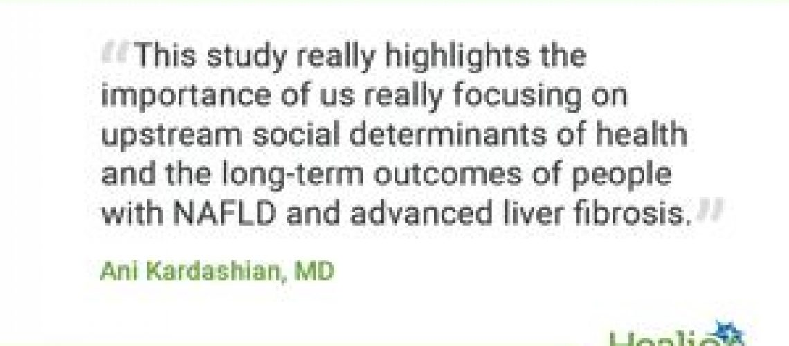 Risk for death higher in food insecure patients with NAFLD, advanced fibrosis