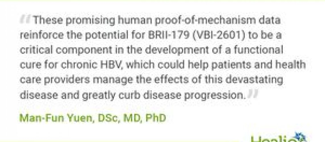 HBV vaccine demonstrates encouraging results in early clinical trials