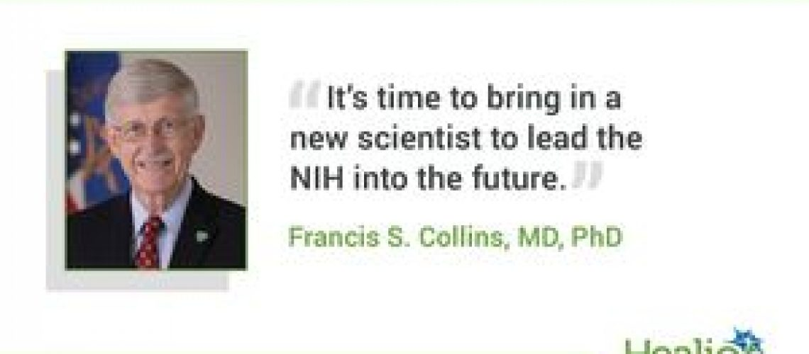 Collins stepping down as NIH director